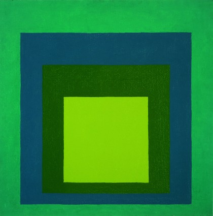 """Homage to the Square: Wet and Dry"" by Josef Albers. (The Kreeger Museum)"