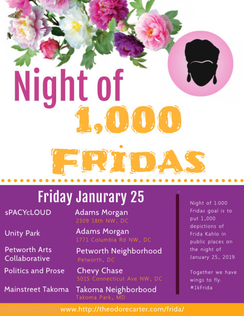 How to Celebrate Night of 1,000 Fridas in D C  - Theodore Carter